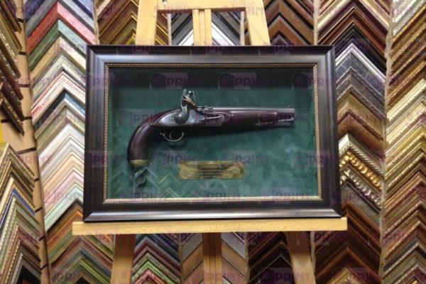 Картина пистолет