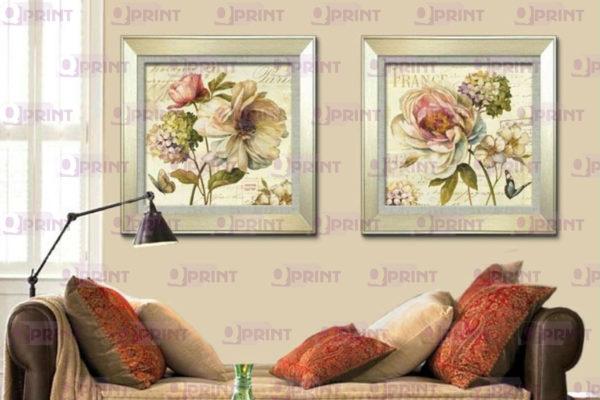 Репродукция цветы