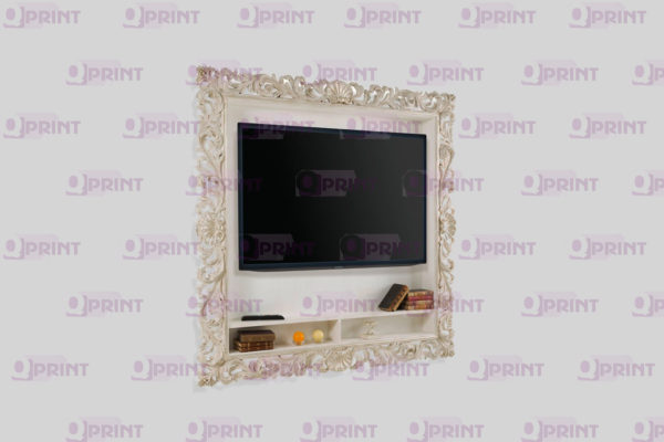 Оформление телевизора в багет