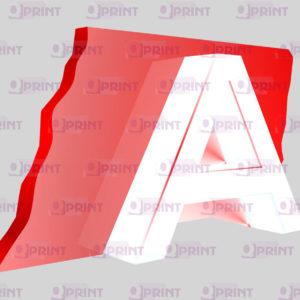 световые буквы пример